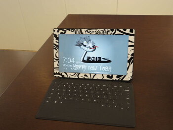 Custom vinyl stickers for Surface tablets are available at some Microsoft stores