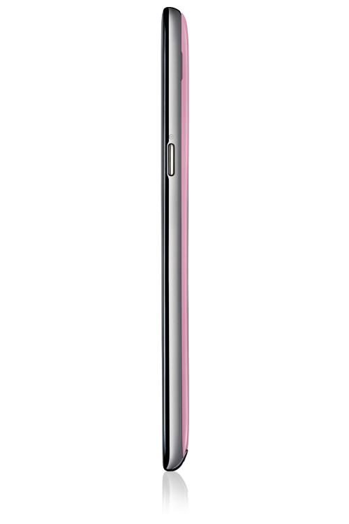 Samsung Galaxy Note II in pink