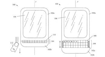 BlackBerry seeks a patent on a hidden QWERTY