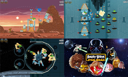 Angry Birds Space, Star Wars - $0.99