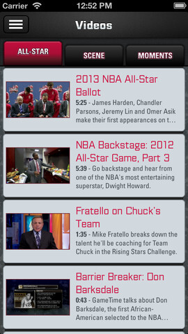 NBA All-Star Game app