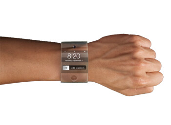 An iWatch might look like this