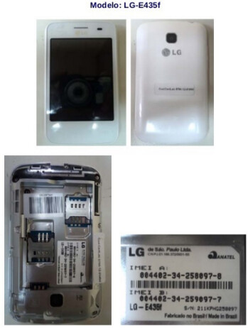 Images of the LG L3 II smartphone leak ahead of MWC