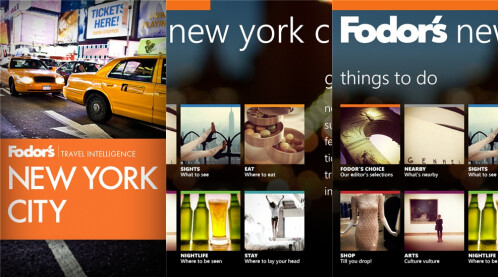 Fodor�s Travel Guides - London, New York, Barcelona, Paris, Rome, and San Francisco - Free