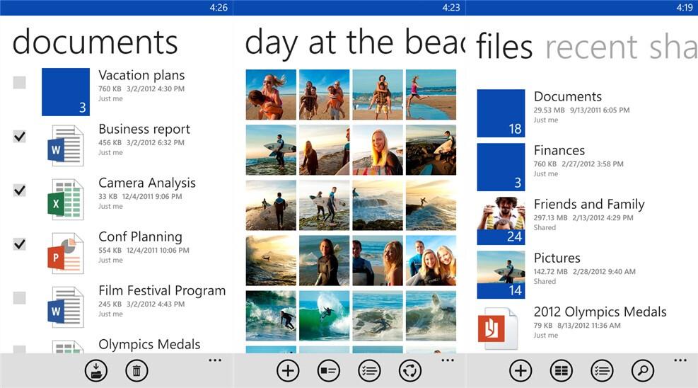 SkyDrive - Free