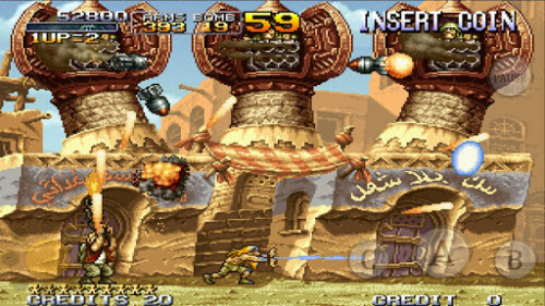 Metal Slug 2 screenshots