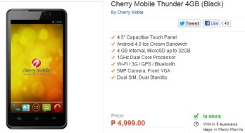 The Cherry Mountain Thunder is just $125 USD
