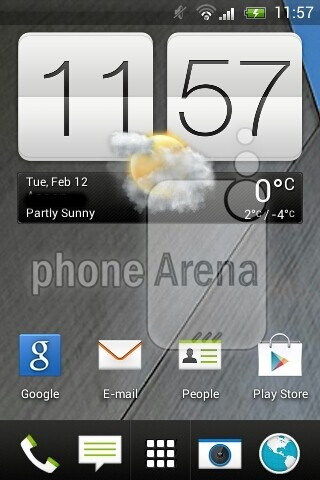 Claimed HTC G2 screenshot confirms simplified Sense 5.0