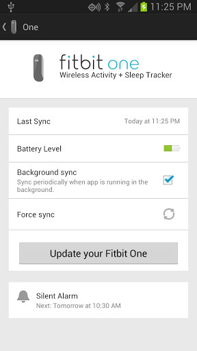 Fitbit accessories and app for Android