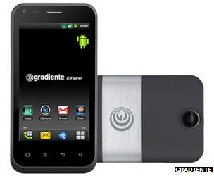 The Gradiente iPhone