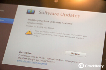 The BlackBerryPlayBook gets an update