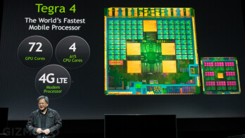 HP's Android flavored tablet is said to use a Tegra 4 processor