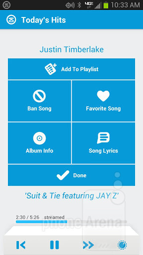 Slacker Radio completely redesigns its iOS and Android apps