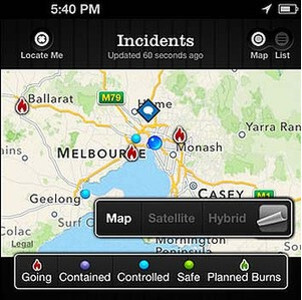 The FireReady app for iOS