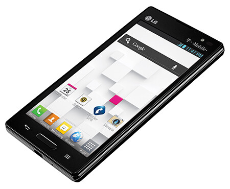 The LG Optimus L9 - LG says it sells an L-Series phone every second in 2013