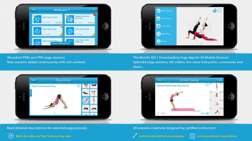 Daily Yoga - Android, iOS - Free (paid extensions)