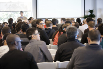 Those who pre-ordered Google Glass got to take part in a Hackathon