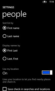 The error message can be eliminated by having the names displayed First, Last