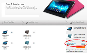The Sony Xperia Tablet S is on sale through February 23rd