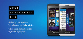 BlackBerry will launch the Z10 in Beirut on Monday and in Turkey on Tuesday