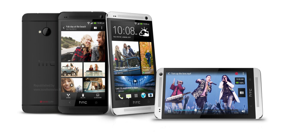 Allegedly official HTC One renders leak hours before announcement