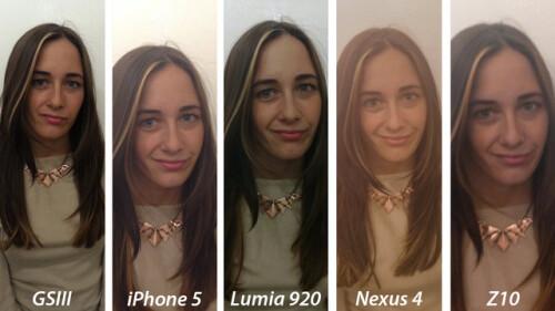 Nokia Lumia 920 takes the cake in camera comparison vs BlackBerry Z10 vs Galaxy S III vs iPhone 5 vs Nexus 4