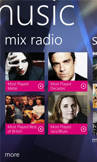 Nokia Music for Windows Phone