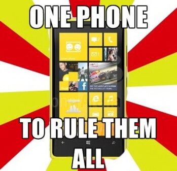 Nokia brings out the Lumia swag: the 920 is the one, not the HTC One