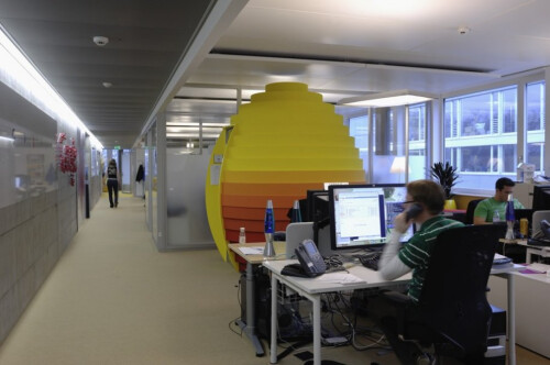 Take a look at Google's Zurich offices: is this your dream workplace?
