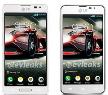 LG Optimus F7 (on the left) and Optimus F5