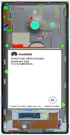 Huawei Ascend W1 visits the FCC en route to Net10