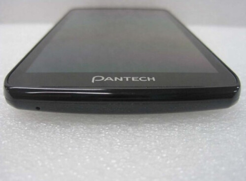 Pantech Perception's FCC visit