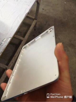Leaked images allegedly of the Apple iPad mini 2