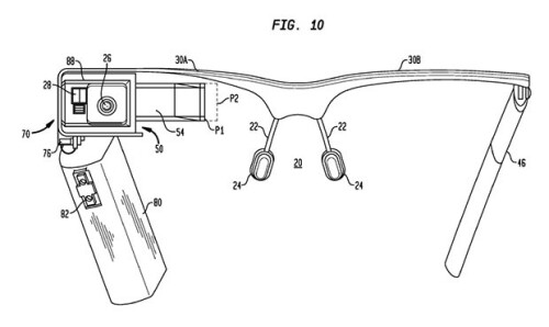 Google Glass patent application is very detailed, but broad