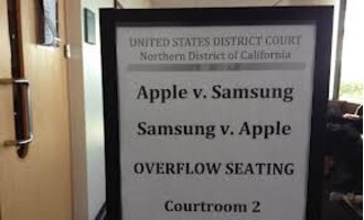 Last year's Apple vs. Samsung patent trial was widely followed