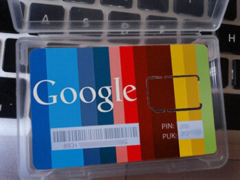 Those Google SIM cards were fake, but the possibility of using Plus for voice calls seems real