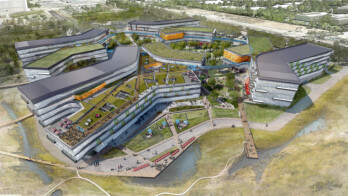 """Google shows off the plans for a new 1.1-million-square-foot """"Bay View"""" campus"""