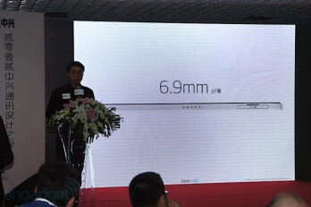 The ZTE Grand S is just 6.9mm thick