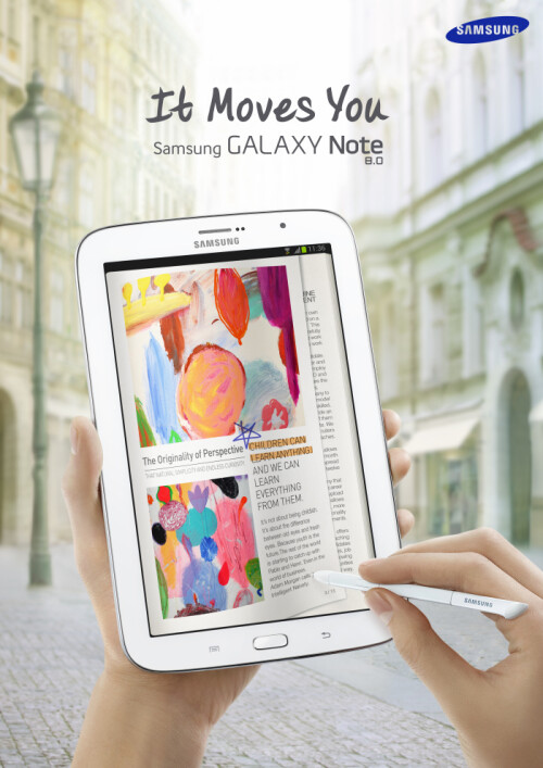 Samsung Galaxy Note 8.0 now official with improved S Pen tech and Dual View mode