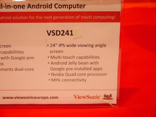 ViewSonic VSD241 hands-on