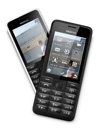 Nokia 301 announced: good camera on a feature phone