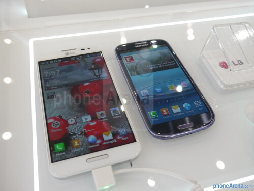 next to Samsung Galaxy S III