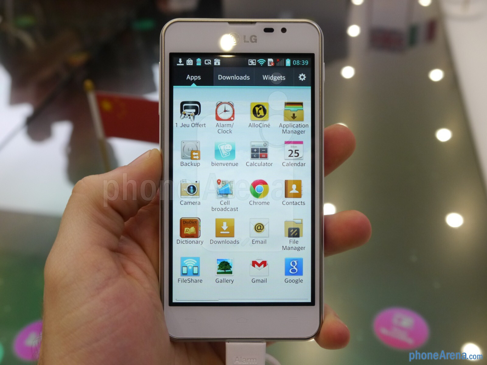 LG Optimus F5 hands-on