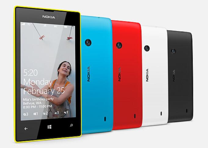 The Nokia Lumia 520, coming to T-Mobile as the Nokia Lumia 521