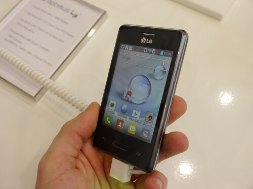 LG Optimus L3 II hands-on