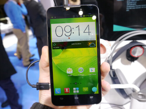 ZTE GrandMemo hands-on