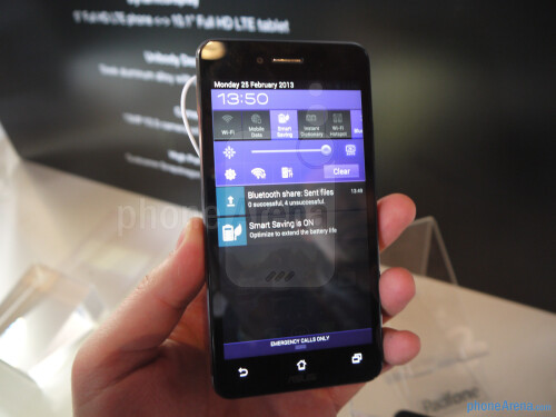 Asus Padfone hands-on