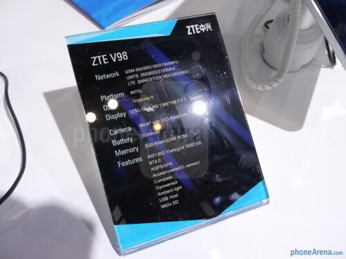 ZTE V98 hands-on