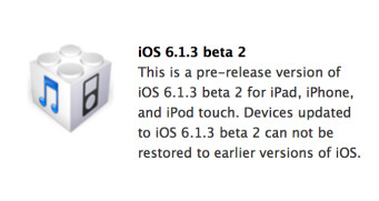 iOS 6.1.3 could help fix the flaws