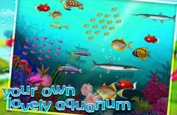 With Tap Fish, children spent real money to save virtual fish